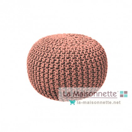 POUF 45/30 HIPPIE CHIK ROSE