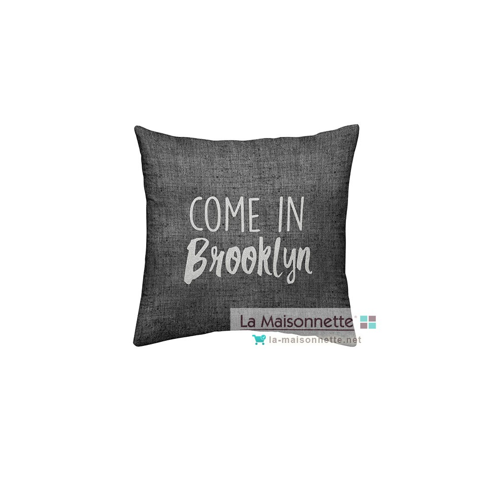 COUSSIN COTON 40/40 SILVER TODAY DESSIN BROOKLYN