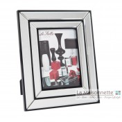 Cadre Photo - Double Bordure en Verre
