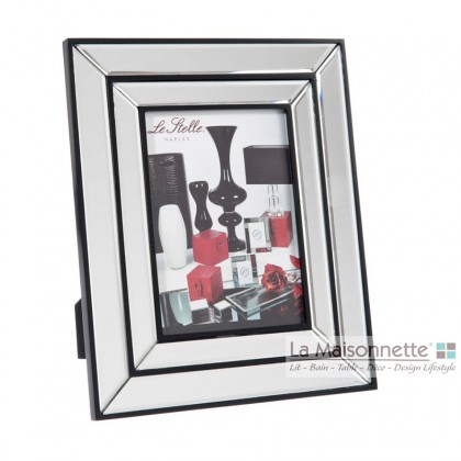 Cadre Photo Double Bordure en Verre