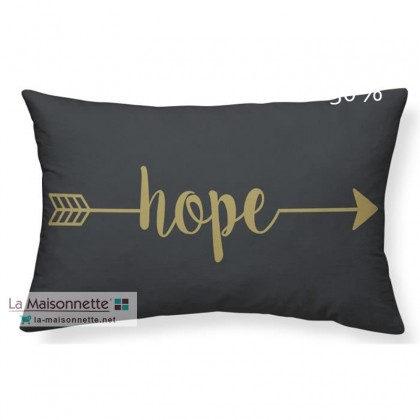 COUSSIN 30/50CM GOLD LABEL _HOPE