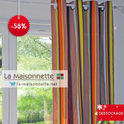 PANNEAU BONITO 135*260CM MULTICOLORE 100% COTON