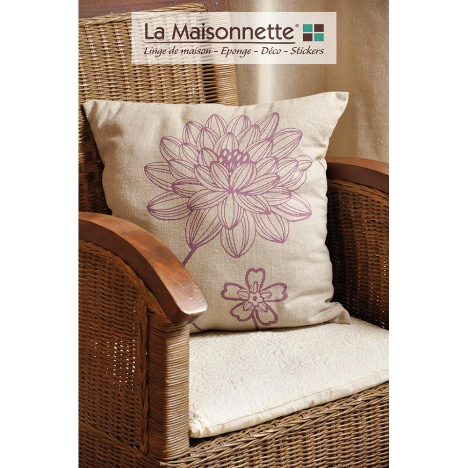 FLORY COUSSIN 45X45 RECYCLE ASSOPCB 6 - 50CO 50PE