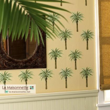 WALLIES CUTOUTS: 25 PALM TREE