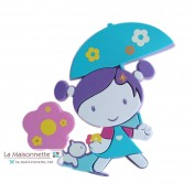 MINI DOOR MOUSSE MISS DOLLY AVEC SON PARAPLUIE