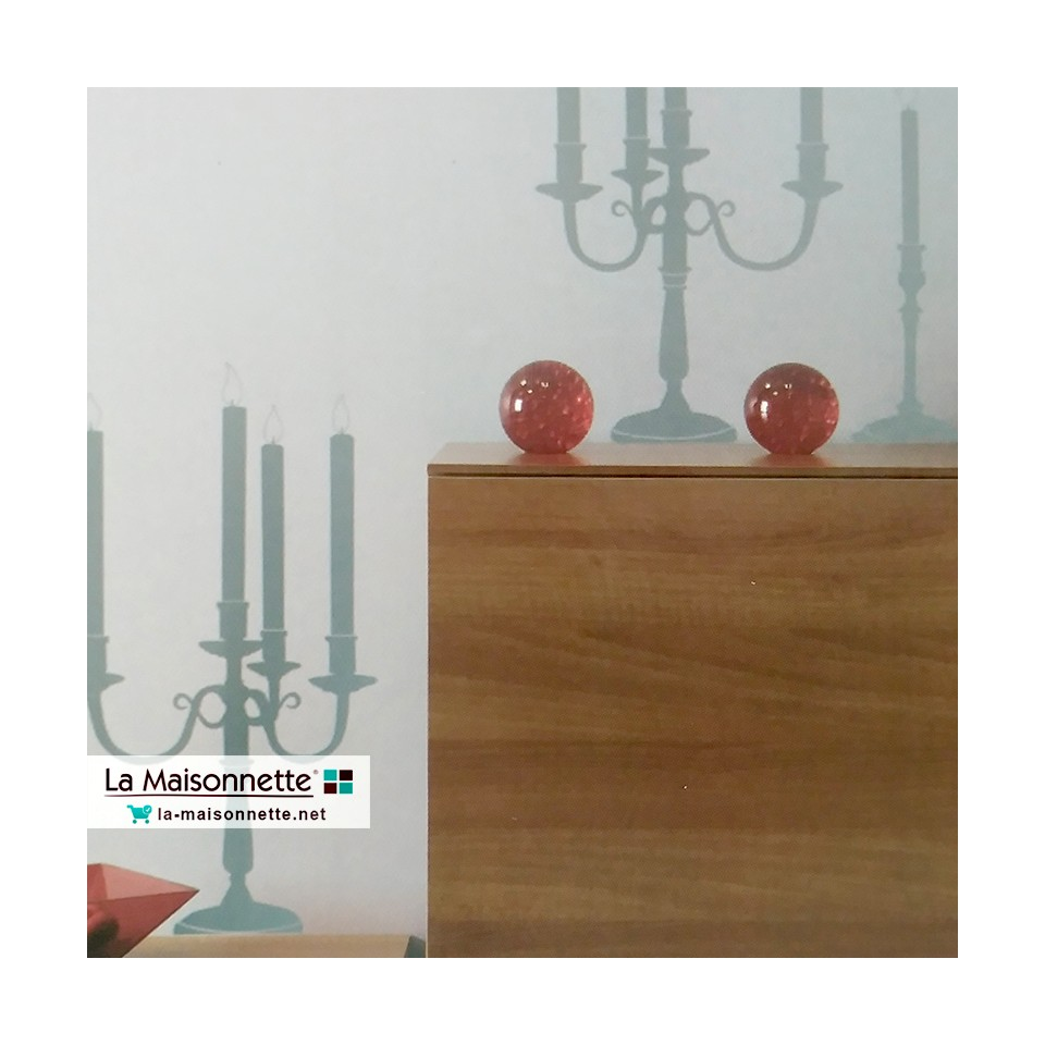 ADHESIF CHANDELIERS - 2 PLANCHES 34*48CM