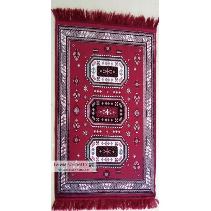TAPIS DESCENTE SANS RELIEF BEJA ROUGE