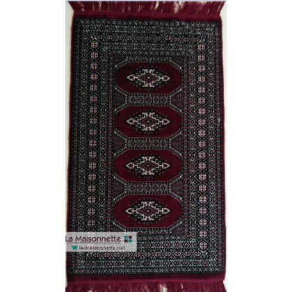 TAPIS DESCENTE SANS RELIEF THALA ROUGE
