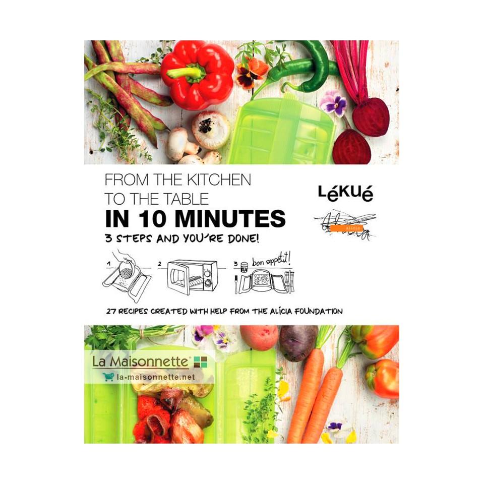 Livre de 35 Recettes De La Cuisine À La Table En 10 Minutes