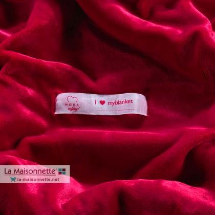 PLAID MORA SOFING ROSE FUCHSIA 120X160CM