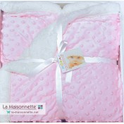 PLAID TOPITOS SHERPA 80X110CM ROSE