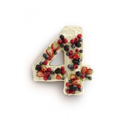 Moule à gâteau Chiffre 4