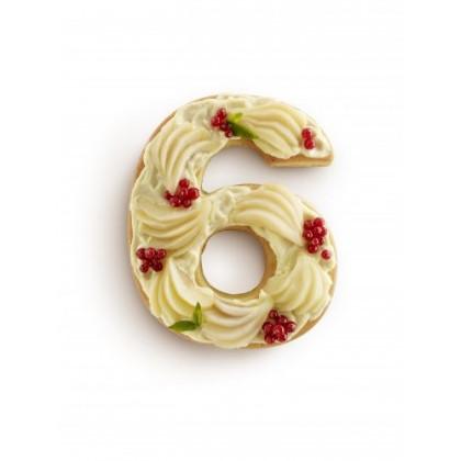 Moule à gâteau Chiffre 6