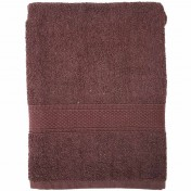 SERVIETTE 50X100 100%C MARRON 450G