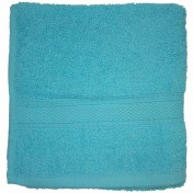 DRAP DE DOUCHE 70X130 100%C TURQUOISE 450G
