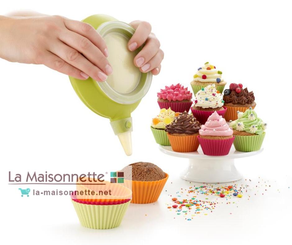 Recette Cupcakes au Chocolat et aux truffes
